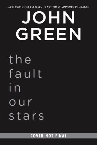 Fault in Our Stars   2012 edition cover