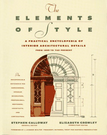 Elements of Style A Practical Encyclopedia of Interior Architectural Details  1991 edition cover