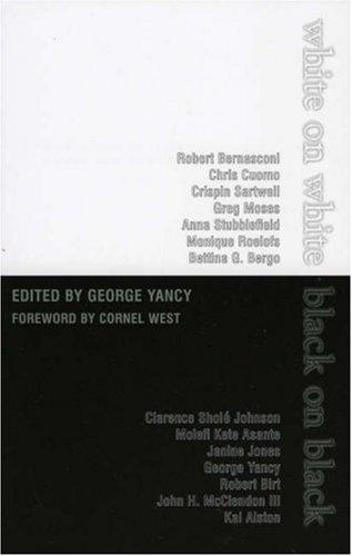 White on White/Black on Black   2005 9780742514812 Front Cover