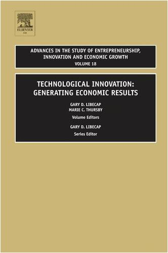 Technological Innovation Generating Economic Results  2008 9780762314812 Front Cover