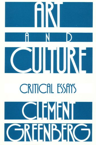 Art and Culture Critical Essays  1971 edition cover