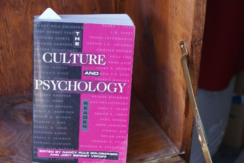 Culture and Psychology Reader   1995 edition cover
