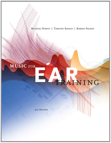 Music for Ear Training  4th 2013 edition cover