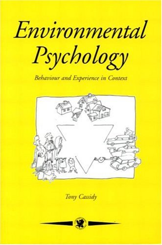 Environmental Psychology Behaviour and Experience in Context  1997 edition cover