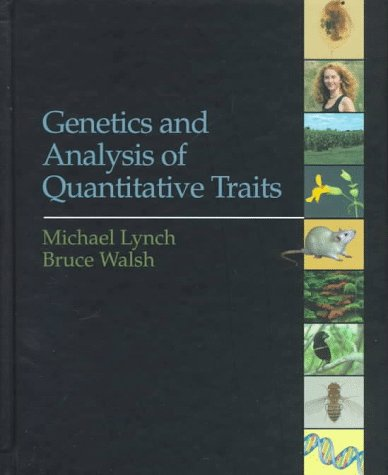 Genetics and Analysis of Quantitative Traits   1998 edition cover