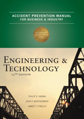 Accident Prevention Manual for Business and Industry Engineering and Technology 13th 2009 edition cover