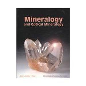 Mineralogy and Optical Mineralogy   2007 edition cover