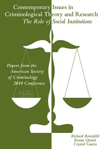 Contemporary Issues in Criminological Theory and Research  2nd 2012 edition cover