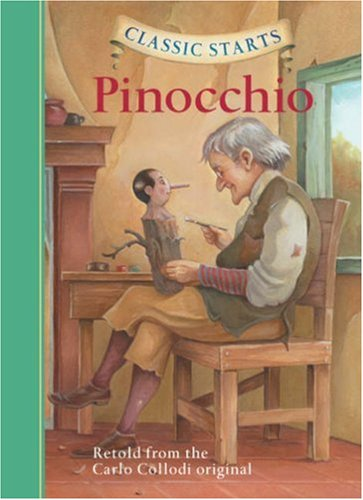 Pinocchio   2008 9781402745812 Front Cover