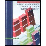 INTRO.APPLIED BIOSTAT.,VOL.1 > N/A edition cover
