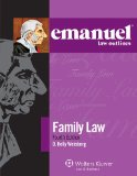 Emanuel Law Outlines - Family Law  4th 2014 (Student Manual, Study Guide, etc.) edition cover