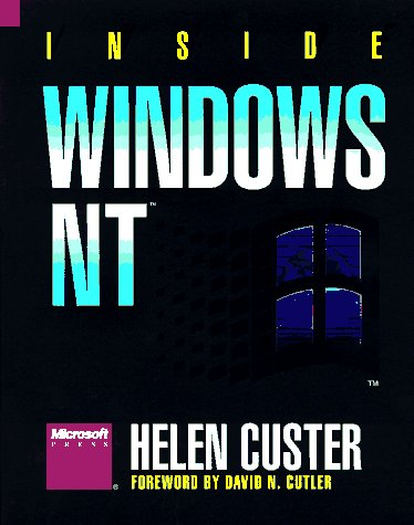 Inside Windows NT   1993 edition cover