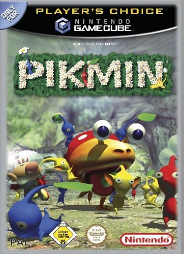 Pikmin (Player's Choice) GameCube artwork