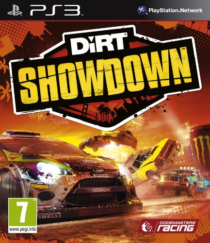Dirt Showdown (PS3) PlayStation 3 artwork