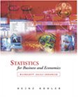 Statistics for Business and Economics with Excel  2002 edition cover