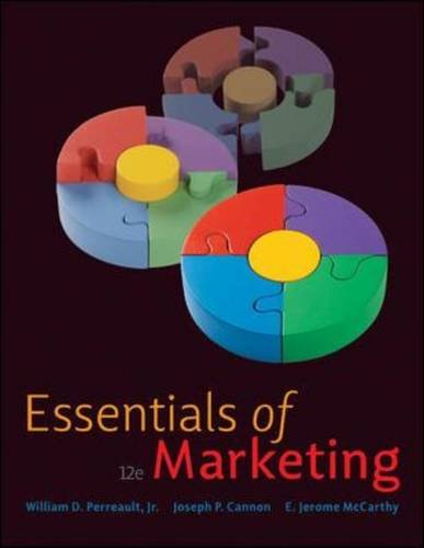 Essentials of Marketing  12th 2010 edition cover