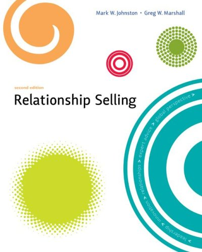 Relationship Selling  2nd 2008 edition cover