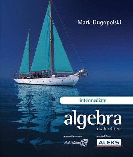 Intermediate Algebra  6th 2009 edition cover