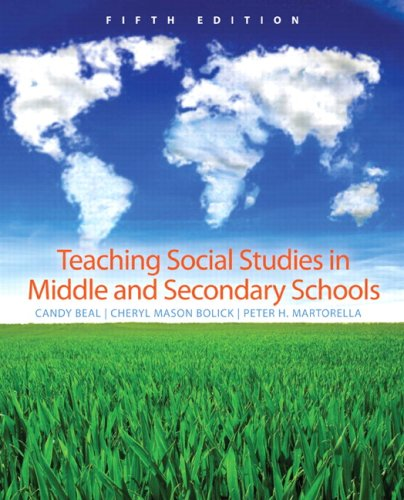 Teaching Social Studies in Middle and Secondary Schools  5th 2009 edition cover