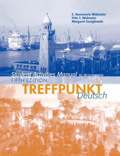 Treffpunkt Deutsch  5th 2008 (Student Manual, Study Guide, etc.) edition cover