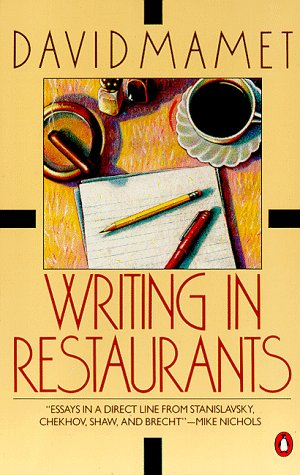 Writing in Restaurants  N/A edition cover
