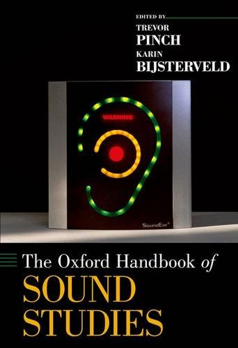 Oxford Handbook of Sound Studies   2013 edition cover