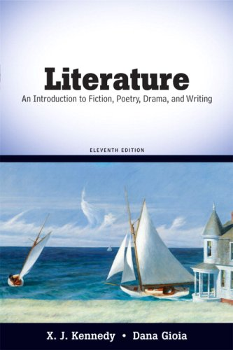 Literature An Introduction to Fiction, Poetry, Drama, and Writing 11th 2010 edition cover