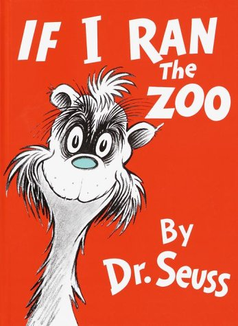 If I Ran the Zoo   1977 edition cover