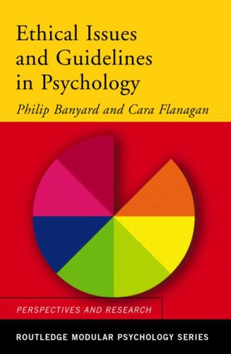 Ethical Issues and Guidelines in Psychology   2005 (Revised) edition cover
