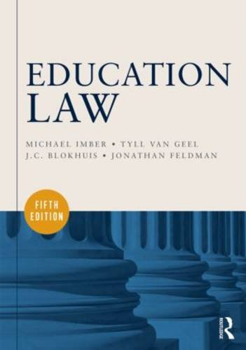 Education Law  5th 2014 (Revised) edition cover