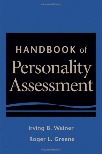 Handbook of Personality Assessment   2008 edition cover