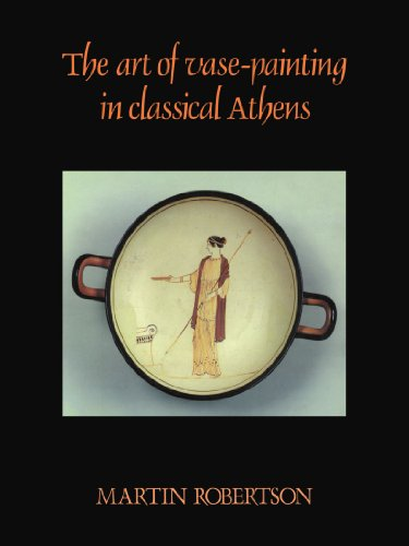 Art of Vase-Painting in Classical Athens   1992 edition cover