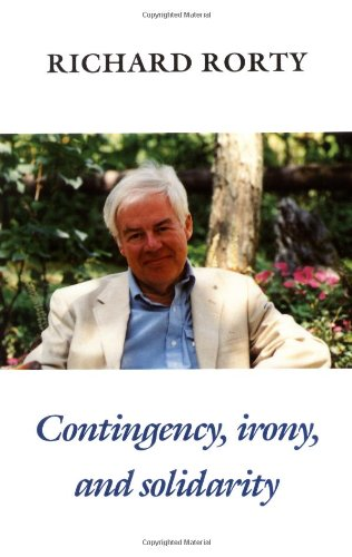 Contingency, Irony, and Solidarity   1989 edition cover