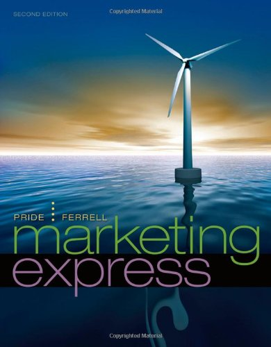 Marketing Express  2nd 2011 9780538466813 Front Cover