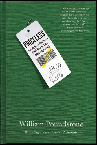 Priceless The Myth of Fair Value (And How to Take Advantage of It) N/A edition cover