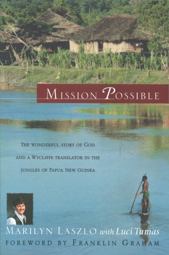 Mission Possible The Story of a Wycliffe Missionary  1998 edition cover