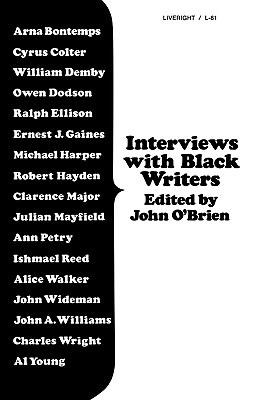 Interviews with Black Writers N/A 9780871402813 Front Cover