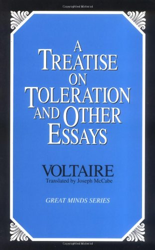 Treatise on Toleration and Other Essays  Unabridged edition cover