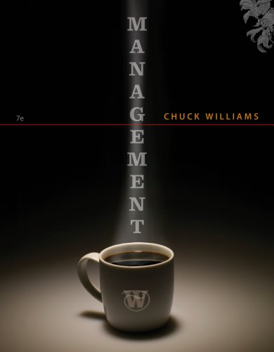 Management  7th 2013 edition cover