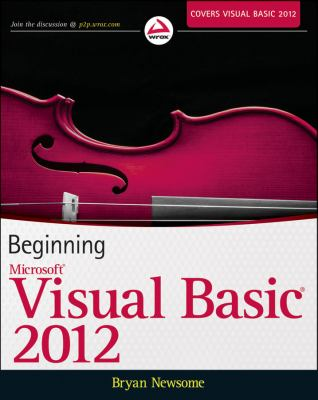 Beginning Visual Basic 2012   2012 edition cover