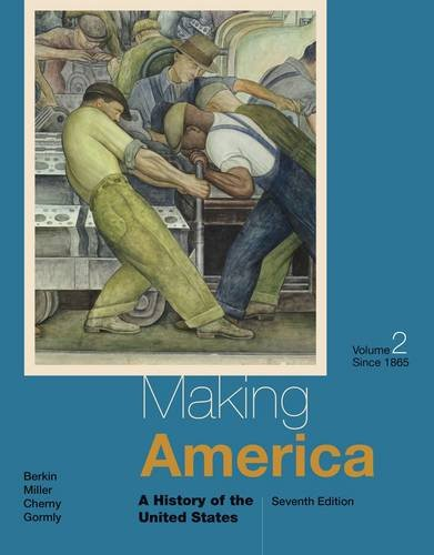 Making America: A History of the United States, to 1865  2014 edition cover