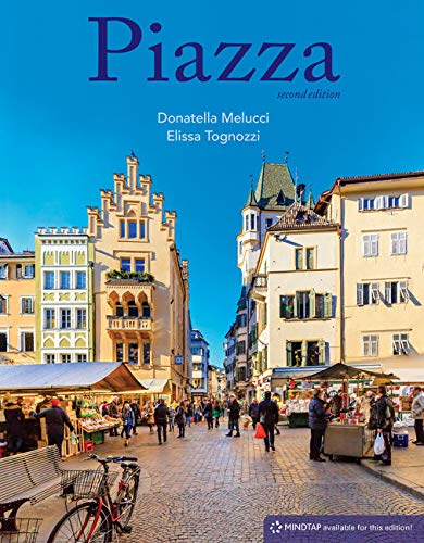 Piazza: Introductory Italian  2019 9781337565813 Front Cover