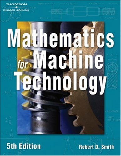 Mathematics for Machine Technology  5th 2004 (Revised) edition cover