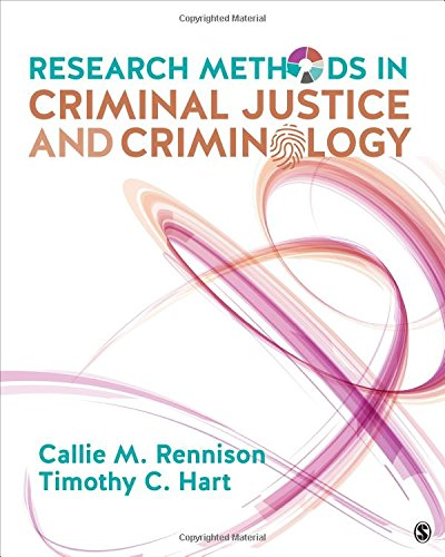 Research Methods in Criminal Justice and Criminology  N/A 9781506347813 Front Cover