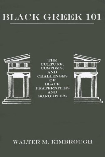 Black Greek 101 The Culture, Customs, and Challenges of Black Fraternities and Soroities  2003 edition cover