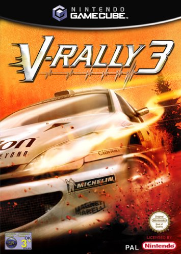 V-Rally 3 GameCube artwork