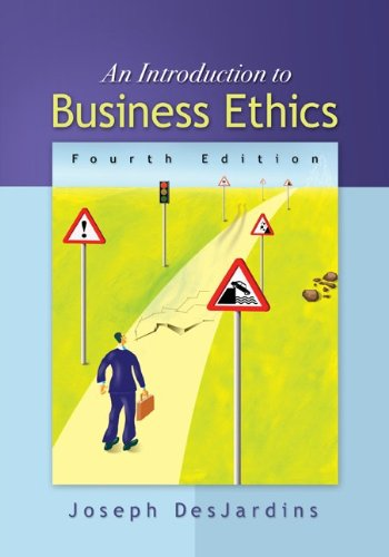 Introduction to Business Ethics  4th 2011 edition cover