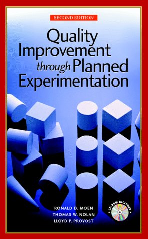Quality Improvement Through Planned Experimentation  2nd 1999 (Revised) edition cover