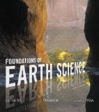 Foundations of Earth Science:   2016 9780134184814 Front Cover
