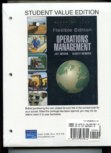 OPERATIONS MGMT.FLEX.ED.-W/LEC N/A 9780135075814 Front Cover